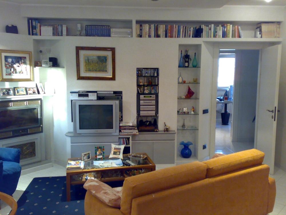 Gallery of simple beautiful galleria with librerie in - Parete in cartongesso costo ...